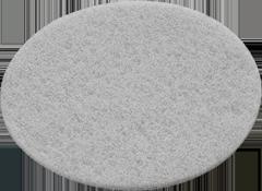 Мат.полировальный Vlies, компл. из 10 шт. STF D 150 white/10x Fe