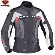 Куртка женская Ixon Corsica, Чёрно-красно-серая
