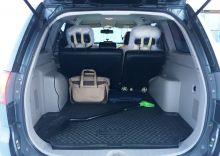 Коврик (поддон) в багажник, Unidec, черный с бортиками