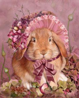 Крольчиха в шляпе