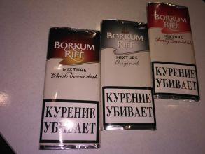 Трубочный табак Borkum Riff 40 гр. АССОРТИМЕНТ.