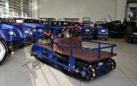 Барс Р 550 RV 9 S буксировщик с двигателем MTR мощностью 9 л. с., склизовая подвеска, задний привод, вариатор Safari, разрезанная гусеница для глубокого снега