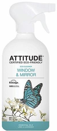 Attitude Очиститель для стёкол и зеркал 800 мл