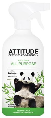 Attitude Универсальный очиститель поверхностей Лаванда и Грейпфрут 800 мл