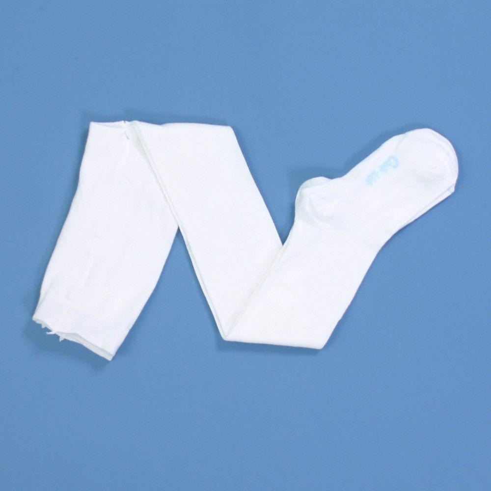 Белые колготки для девочки 6-7 лет