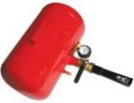 Бустер для упрощения посадки бескамерных шин на диск.                                                                                                                                       Объем ресивера 19 л.  Давление воздуха 7-12 бар.  Оснащен предохран