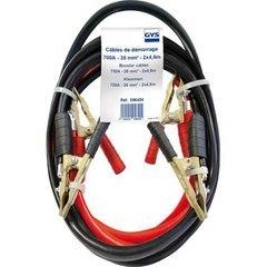Профессиональные пусковые кабели с бронзовыми зажимами. 700A - 2 x 4.5m,  сечение кабеля 35mm²
