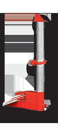 Силовое устройство башенного типа для стапелей SIVER E и D, мощность 10 т. В сборе с гидроцилиндром и удлинителем.