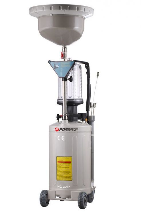 Установка для удаления отработанного масла(90л,пневматическая)