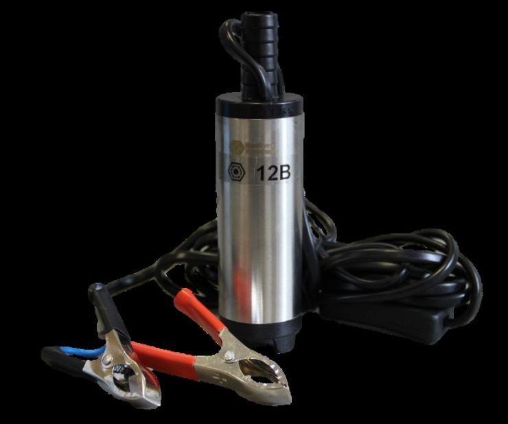 Насос перекачки топлива погружной 12V или 24V D38 20 л/мин