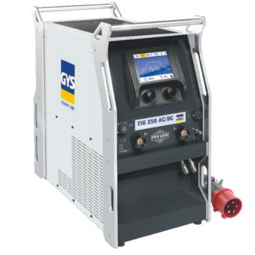 TIG 250 AC/DC-HF Сварочный аппарат аргонодуговой сварки инверторного типа с микропроцессорным управлением и цифровым ЖК-экраном, оснащен жидкостной системой охлаждения (емкость 5 л). Аппарат промышленного назначения и с высоким ПВ разработан для сварки сп
