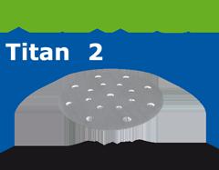 Шлифовальные круги STF D150/16 P400 TI2/100