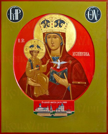 Леснинская икона Божией Матери (рукописная)