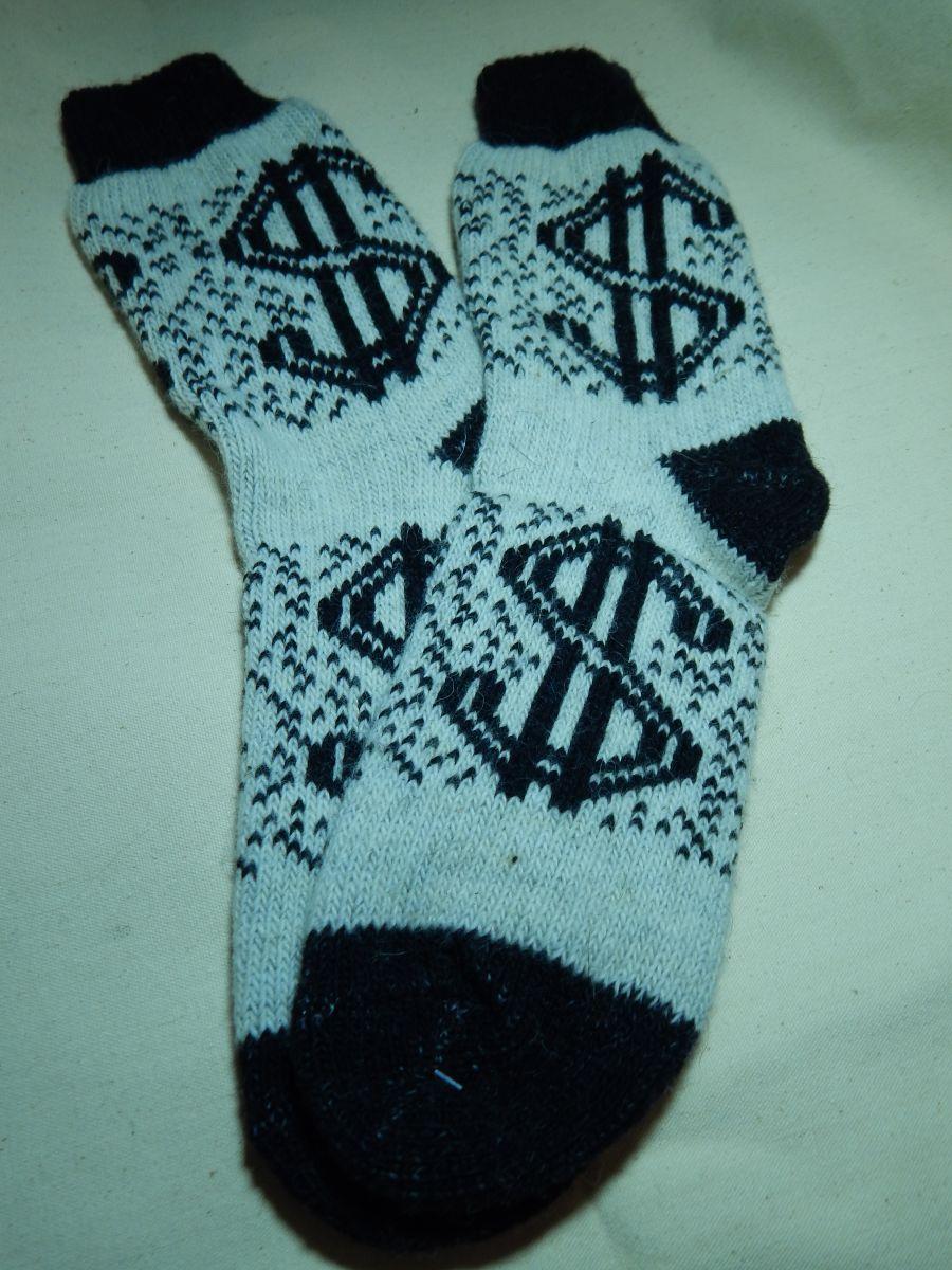 Носки мужские шерстяные Доллар