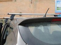 Багажник на крышу на Hyundai Creta (без рейлингов), Атлант, аэродинамические дуги