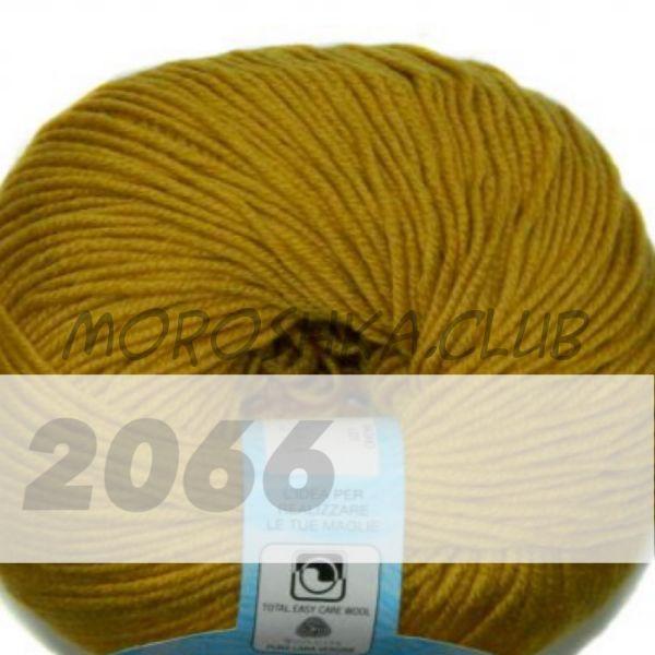 Горчичный Martine BBB (цвет 2066), упаковка 10 мотков