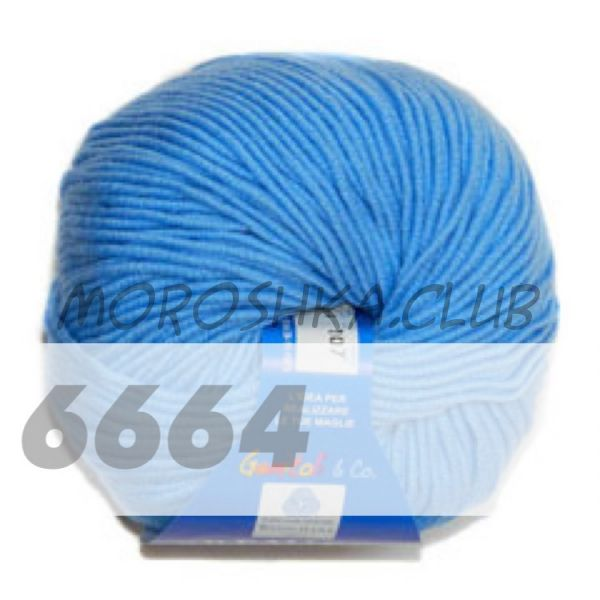 Ярко-голубой Premiere BBB (цвет 6664), упаковка 10 мотков