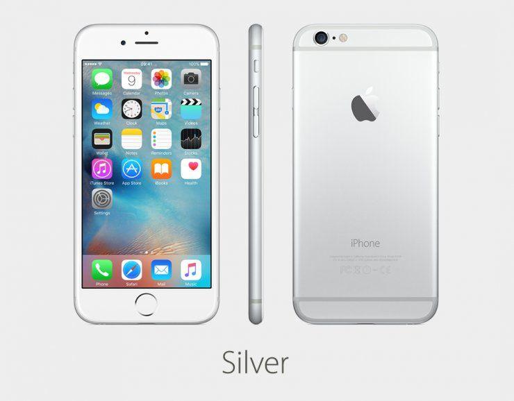 Apple iPhone 6 128GB серебристый