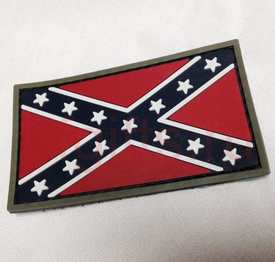Патч ПВХ Флаг Конфедерации