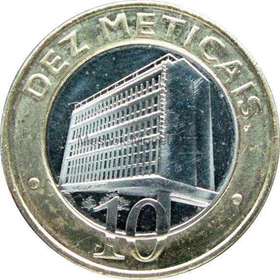 Мозамбик 10 метикаль 2006 г.