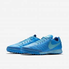 Шиповки NIKE TIEMPOX GENIO II LEATHER TF 819216-444
