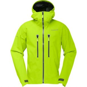 Norrona Trollveggen Gore Tex Pro Jacket Birch Green M