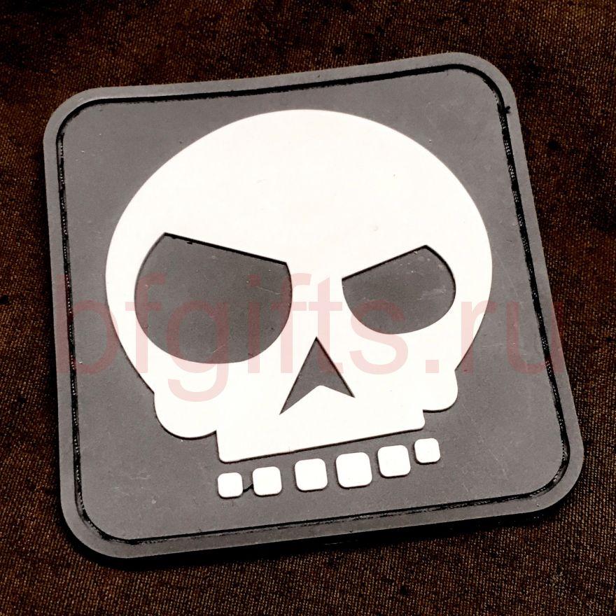 Патч череп