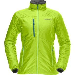 Norrona Lyngen PrimaLoft60 Women Jacket Birch Green