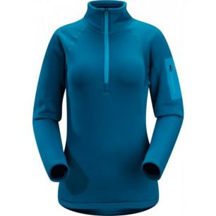 Arc'teryx Women's Rho AR Zip Neck calypso
