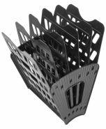 Лоток-веер 6 секц СТАММ черный/12 ЛТ96