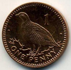 Гибралтар 1 пенни 2000