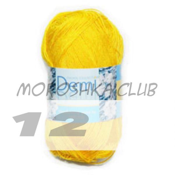 Цвет 12 Demi, упаковка 10 мотков