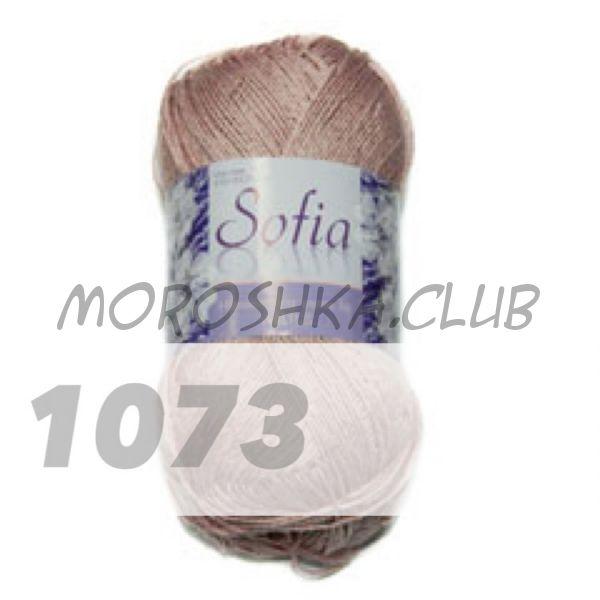 Цвет 1073 Sofia, упаковка 10 мотков
