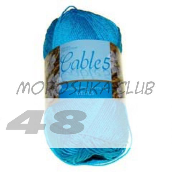Цвет 48 Cable 5, упаковка 10 мотков