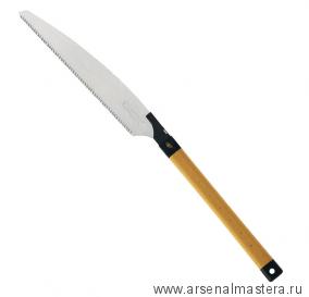 Пила японская плотницкая Kataba Kariwaku Z saw, 333мм (шаг 2.8мм) (пиление волокон по диагонали, сырой древесины) Dictum М00002495