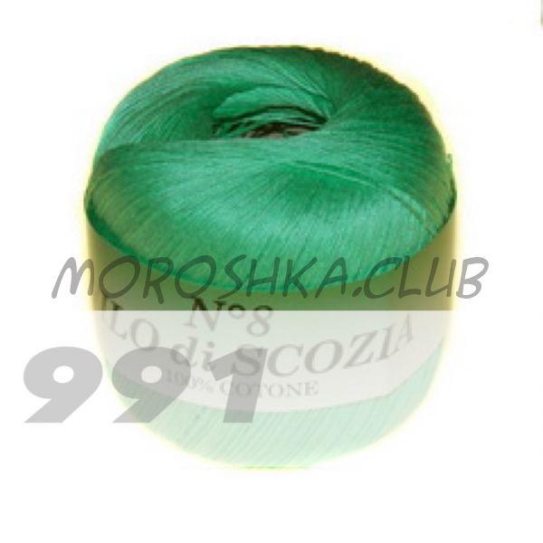 Цвет 991 Filo di scozia #8, упаковка 10 мотков