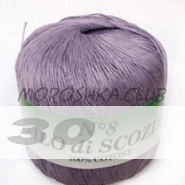 Цвет 30 Filo di scozia #8, упаковка 10 мотков