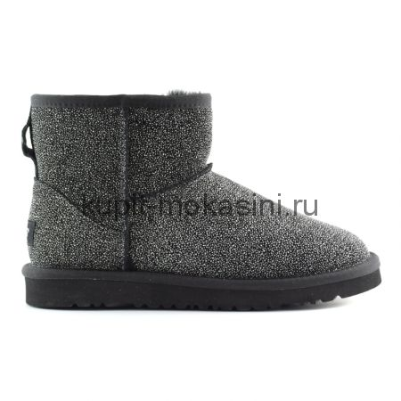 Classic Mini Serein Black - Угги Мини Serein Черные