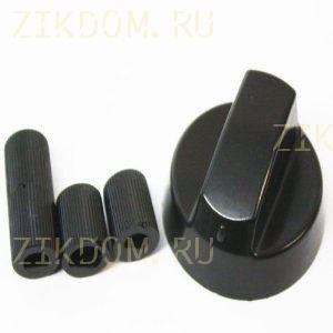 Ручка для газовой плиты универсальная черная 43CU010
