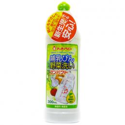 """""""CHU-CHU Baby"""" Жидкое средство для мытья детских бутылочек, детской посуды, овощей и фруктов (повышенной концентрации), 300 мл (бутылка)"""