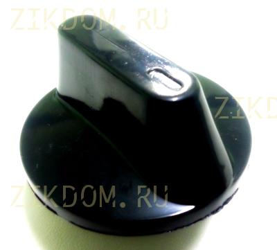 Ручка переключения конфорки электроплиты Электра черная