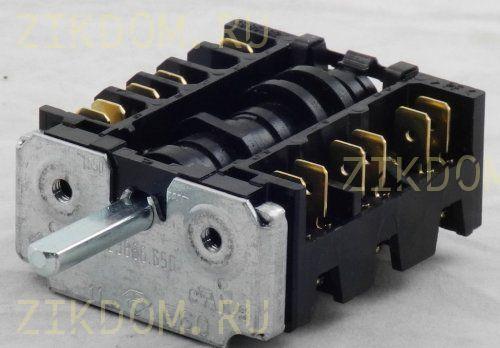 Переключатель режимов духовки для электроплиты Hansa EGO 46.23866.650