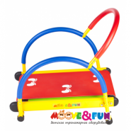 Детская беговая дорожка с компьютером Moove&Fun SH-01C