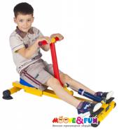 Детский гребной тренажер Moove&Fun SH-04-A