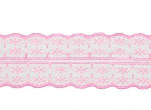 `Кружево, ширина 45 мм, цвет светло-розовый