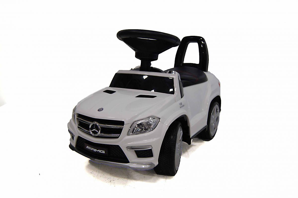 Детская машина-каталка толокар River Toys Mercedes-Benz A888AA, белый