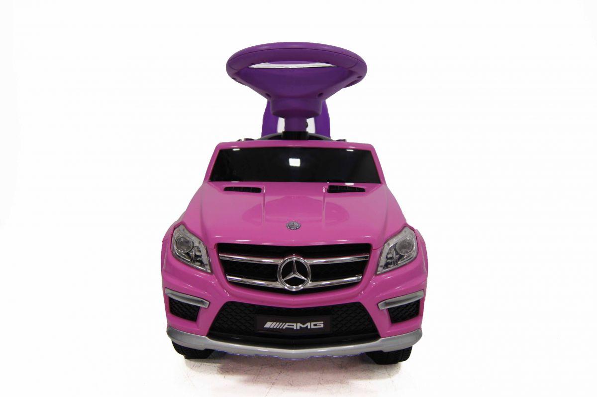 Детская машина-каталка толокар River Toys Mercedes-Benz A888AA-H, розовый