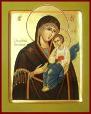 Песчанская икона Божией Матери (рукописная)