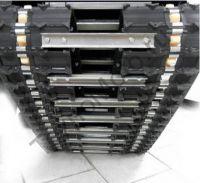 Рекс R-LV 513 переднеприводный мотобуксировщик с двигателем мощностью 13 л.с., вариатор Safari, разрезанная гусеница.