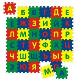 """Мягкий развивающий коврик """"Алфавит"""""""